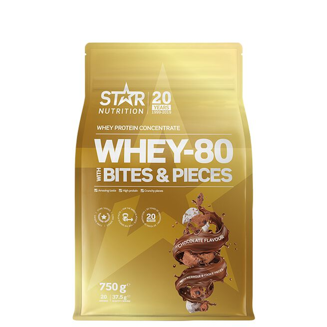Star nutrition Bites and pieces Whey-80 Chocolate meringue cookie
