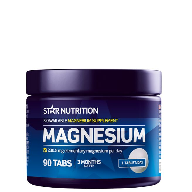 Star nutrition Magnesium 90 tabs
