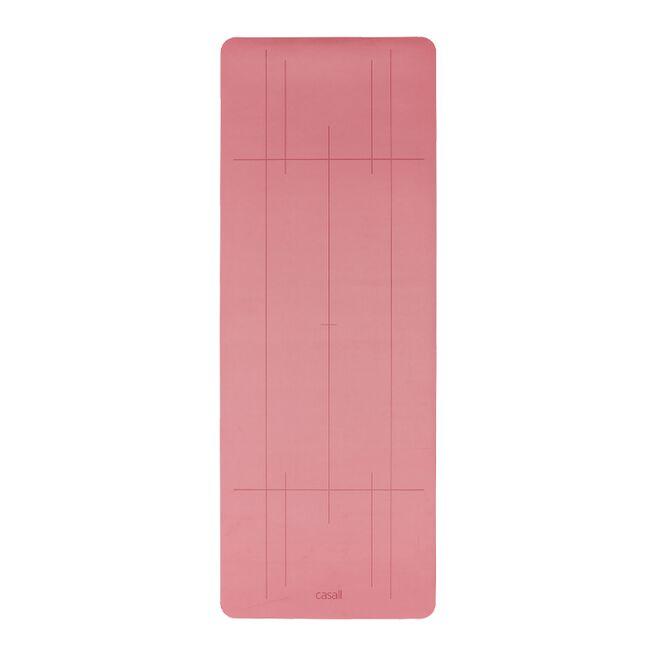Casall Yoga mat Grip & Cushion III 5mm, Comfort Pink
