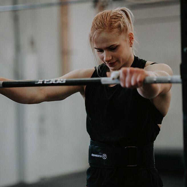 X-RX Lifting Belt, Black, S