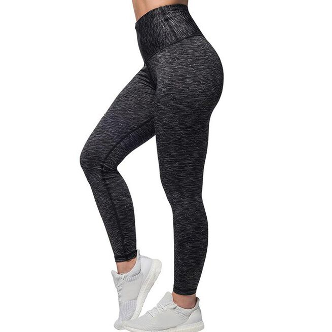 Cushy Soft Legging, Black/Grey, XS