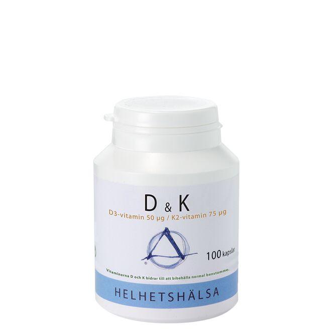 D & K Vitamin Helhetshälsa