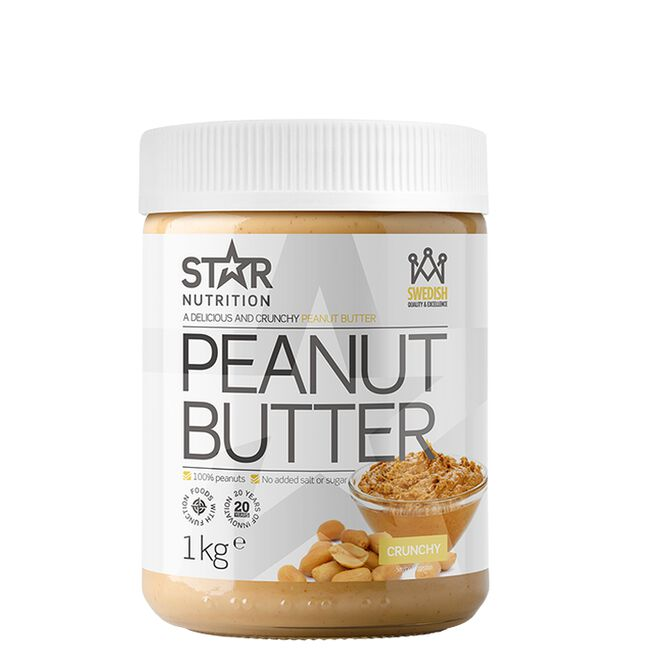 Star nutrition peanut butter crunchy