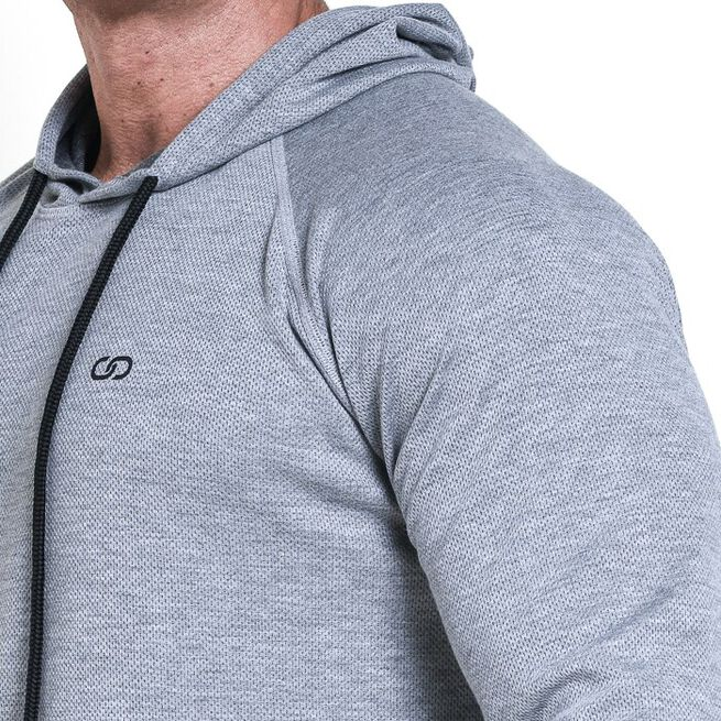 Chained Thermal Hood, Light Grey Melange, M