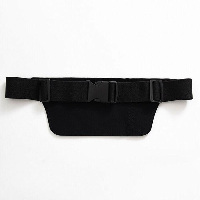 ICIW Reflective Running Belt/Bag, Black