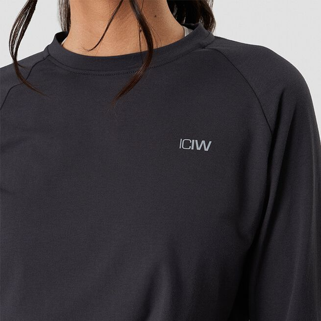 ICANIWILL Define Cropped Adjustable Long Sleeve Graphite