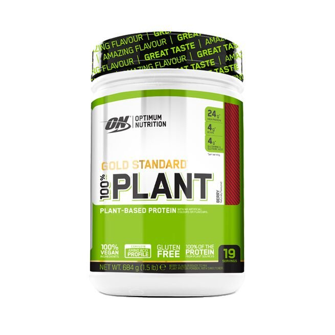Gold Standard 100% Plant, 684 g, Berry