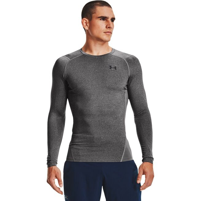 Under Armour UA HG Armour Comp LS, Carbo Heather
