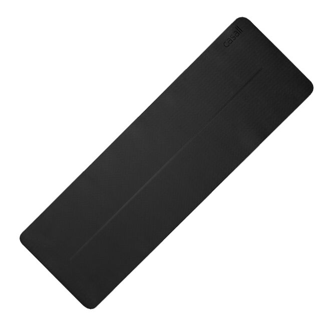 Yoga Mat Position 4mm, Black/Grey