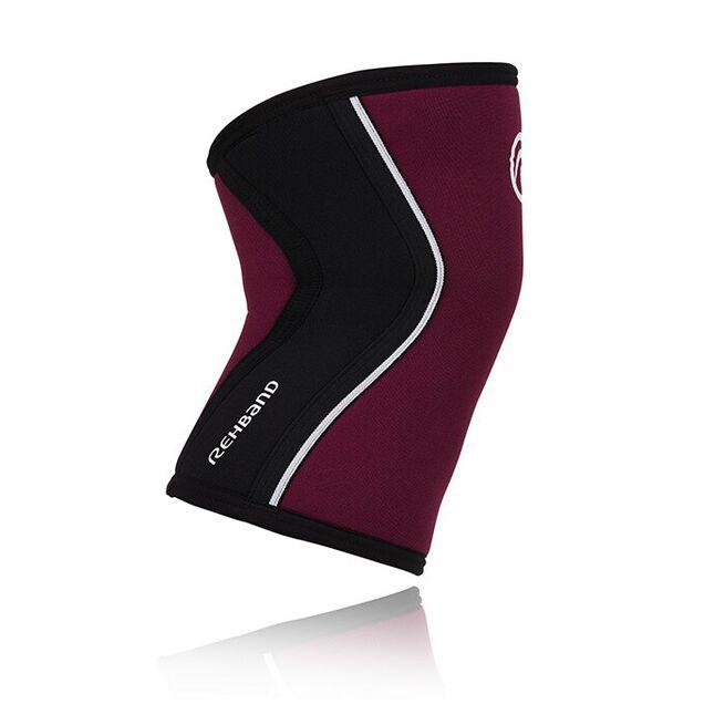 RX Knee Sleeve, 5mm, Burgundy/Black, XS