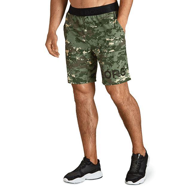Borg Shorts, Digital Woodland XL Duck Green, M