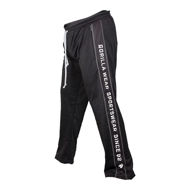 Functional Mesh Pants, Black/White, S/M
