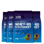 star nutrition whey-80 stevia