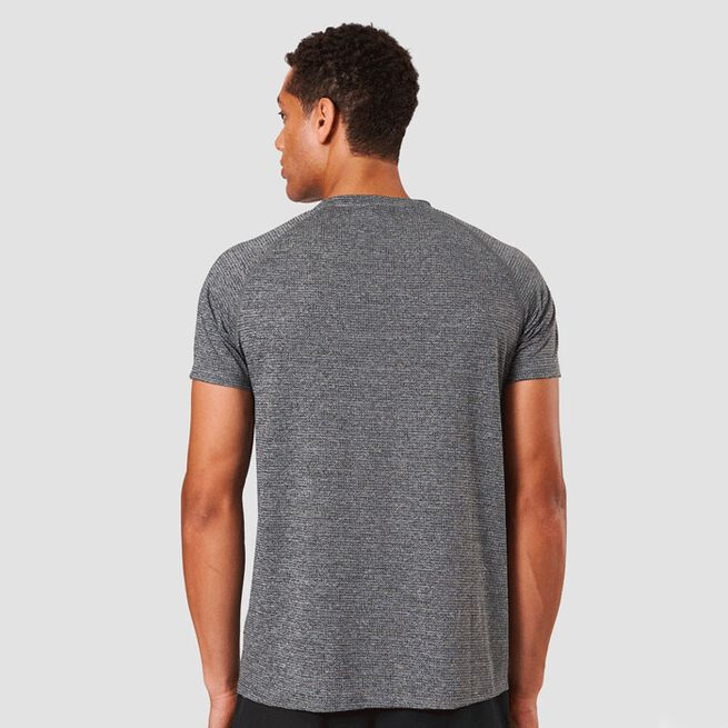ICIW Training Mesh Graphic Tee Grey Melange