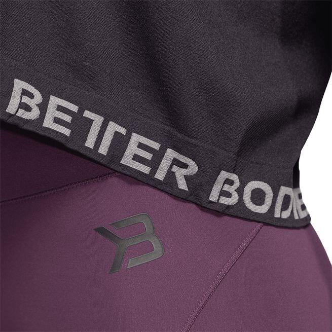 Better Bodies Rockaway Seamless LS, Black