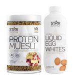 Star nutrition musli flytande äggvita eggwhite