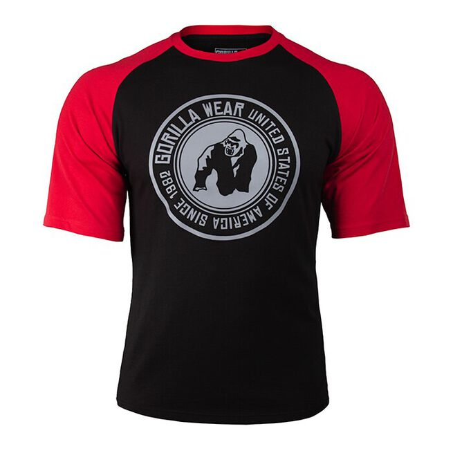 Texas T-shirt, Black/Red, M