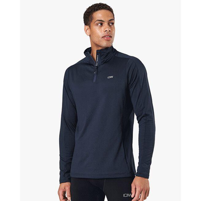 Outdoor Training 1/4 Fleece Zip, Petrol Blue, XL