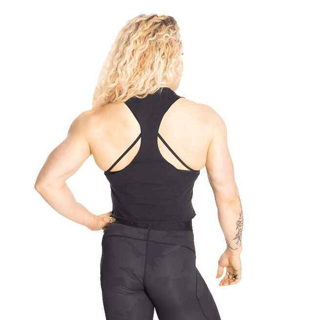 Fluid Loose Racerback, Black, M