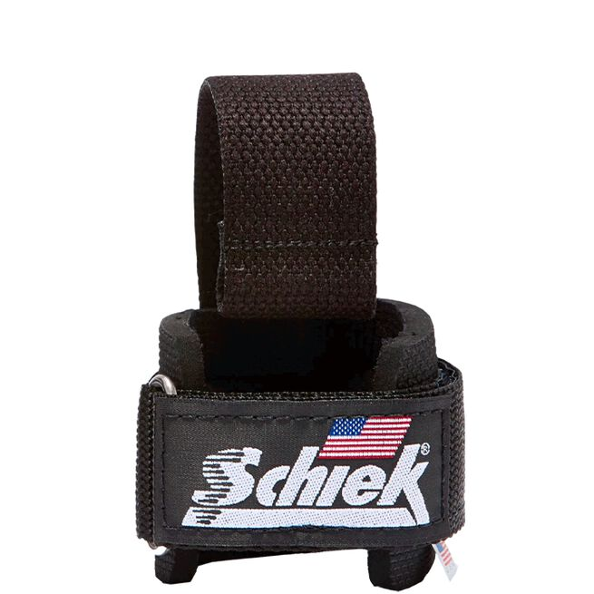 Power Lifting Straps with Dowel, Black