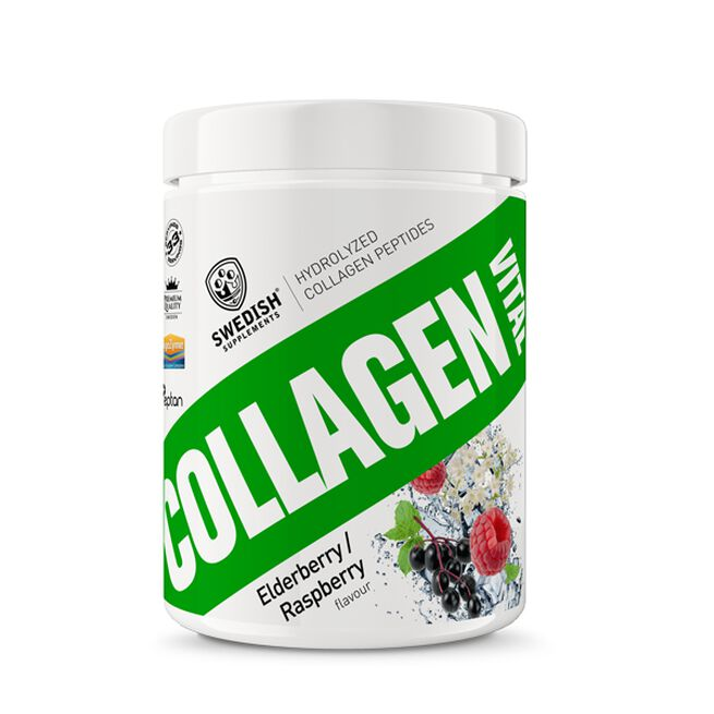 Collagen Vital, 400 g, Elderflower Raspberry