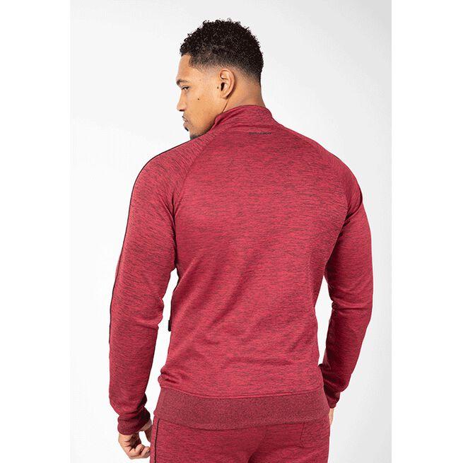 Wenden Track Jacket, Burgundy red, S
