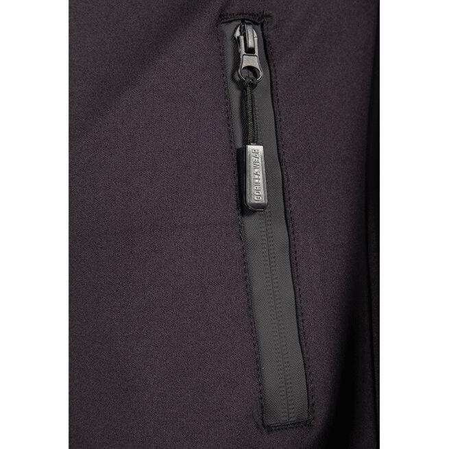 Wenden Track Jacket, Black/Gold, S