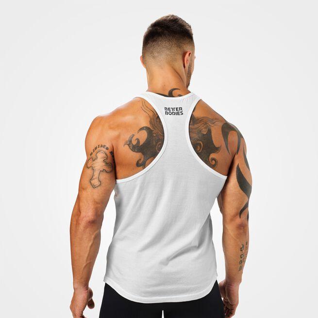 Essential T-back, white, XL