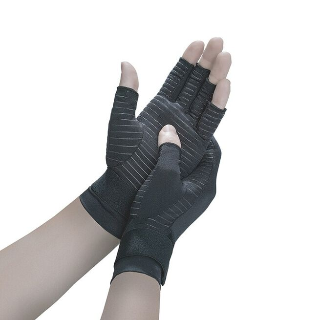 Copper Fit Hand Relief Gloves, S/M