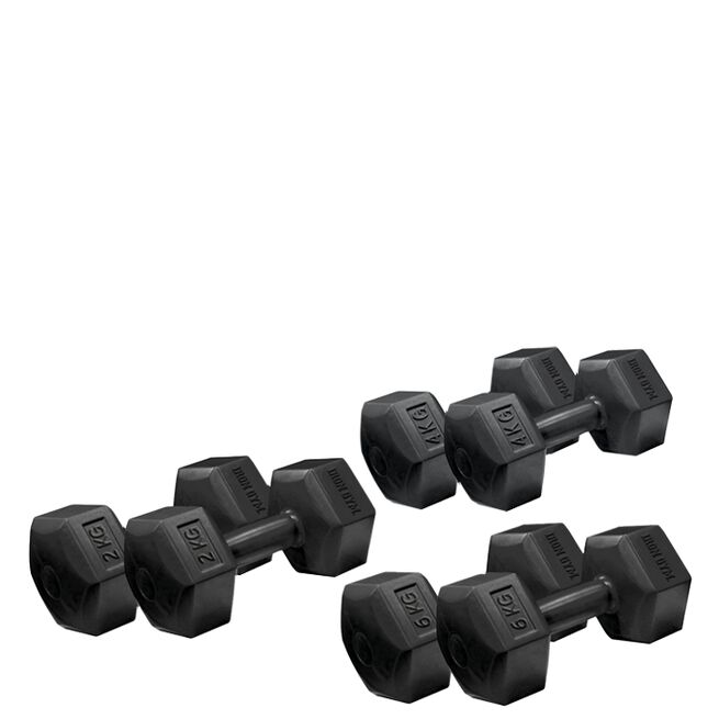 Iron Gym Fixed Hex Dumbbell, Pair