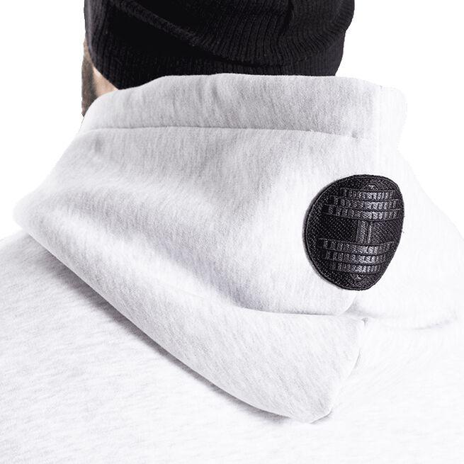 Graphic Hoodie, Light Grey Melange, M