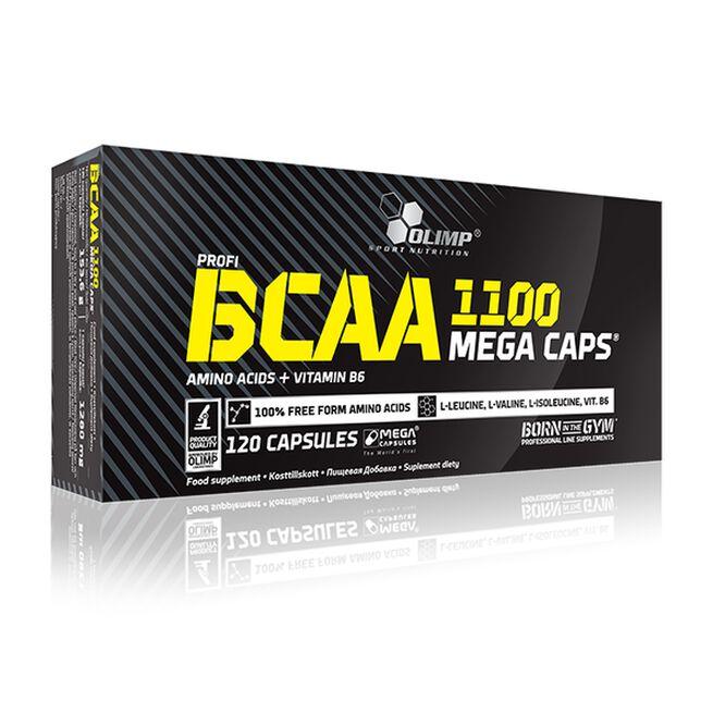 BCAA Mega Caps, 120 caps