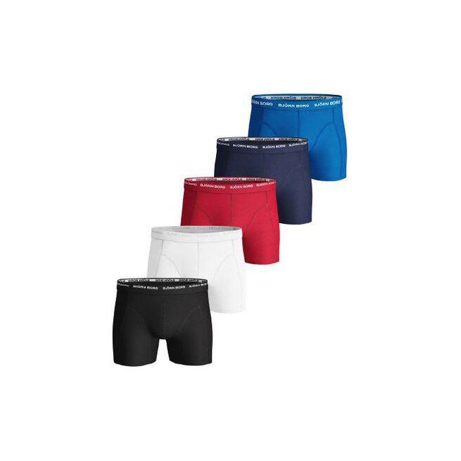 5p Short Shorts Noos Solids, Black, S