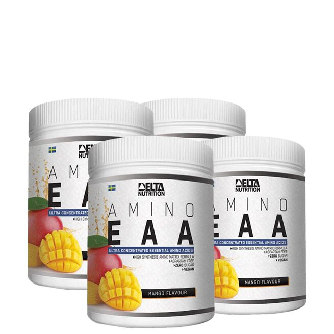 Delta Nutrition 4 x EAA+ Amino, 400 g