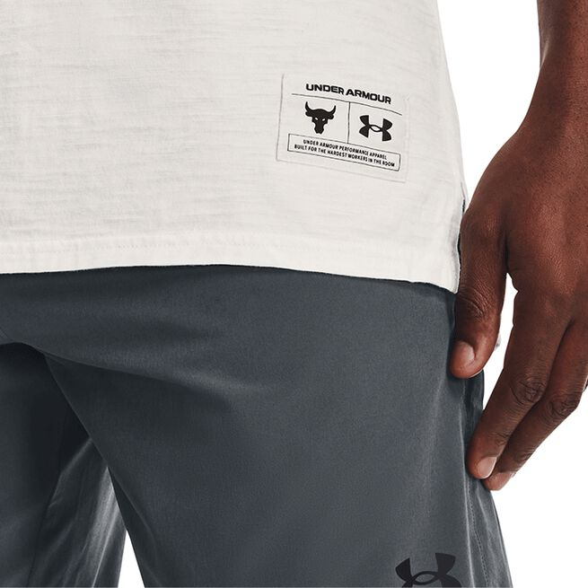 Under Armour Project Rock CC Tank Onyx White