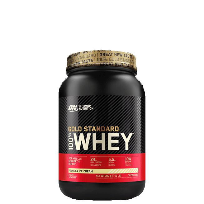 Optimum Nutrition, Gold Standard Whey, 908 gram, Vanilla Ice Cream