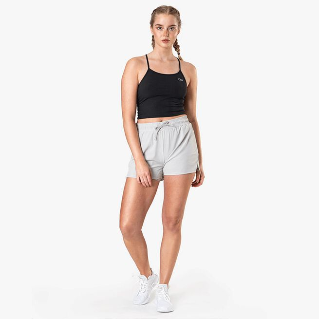 ICIW Devotion Running Shorts, Light Grey