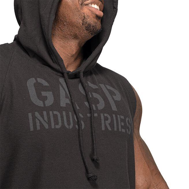 Gasp Thermal sl Hoodie, Washed Black