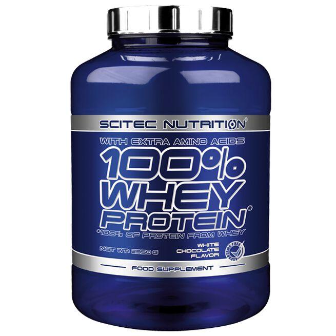 100% Whey Protein, 2350 g, Sjokolade