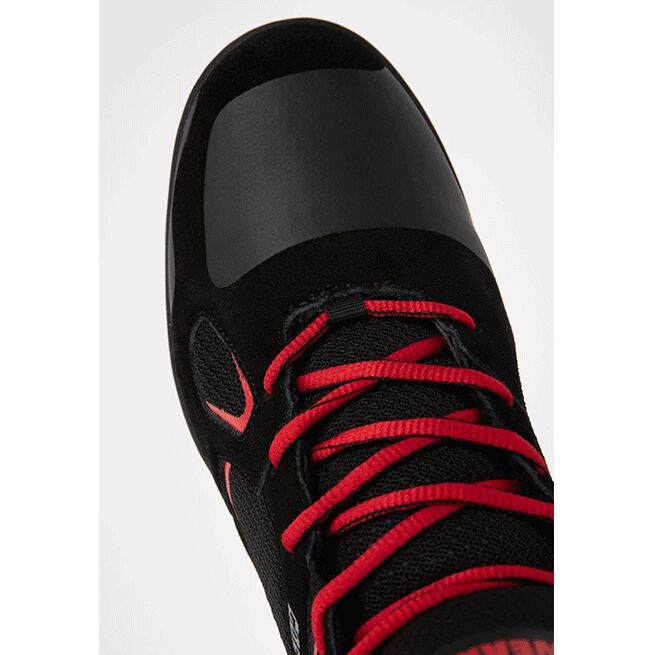 Troy High Tops, Black/Red, 36