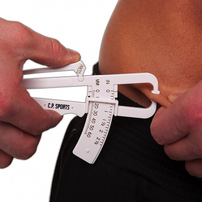 Fat Caliper, Fat Measurement, White