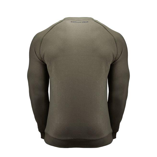 Gorilla Wear Bloomington Crewneck Sweatshirt, Army Green, M
