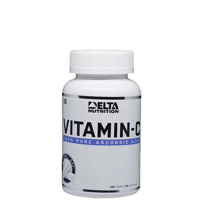 Delta Nutrition Vitamin C, 120 caps