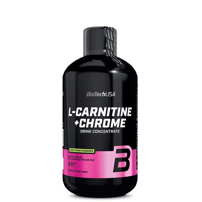 L-Carnitine, + Krom, 500 ml, Orange