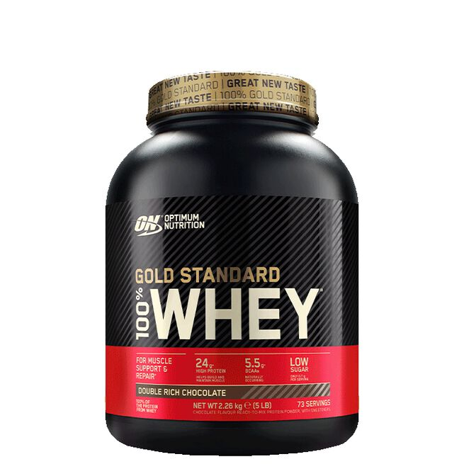 Optimum Nutrition, Gold Standard Whey, 2273 gram, Double Rich Chocolate