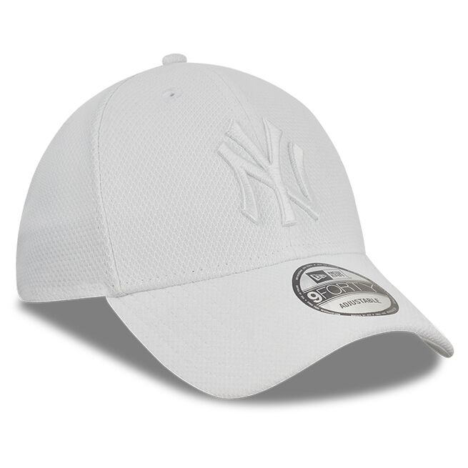 Diamond Era 9FORTY New York Yankees, White/White