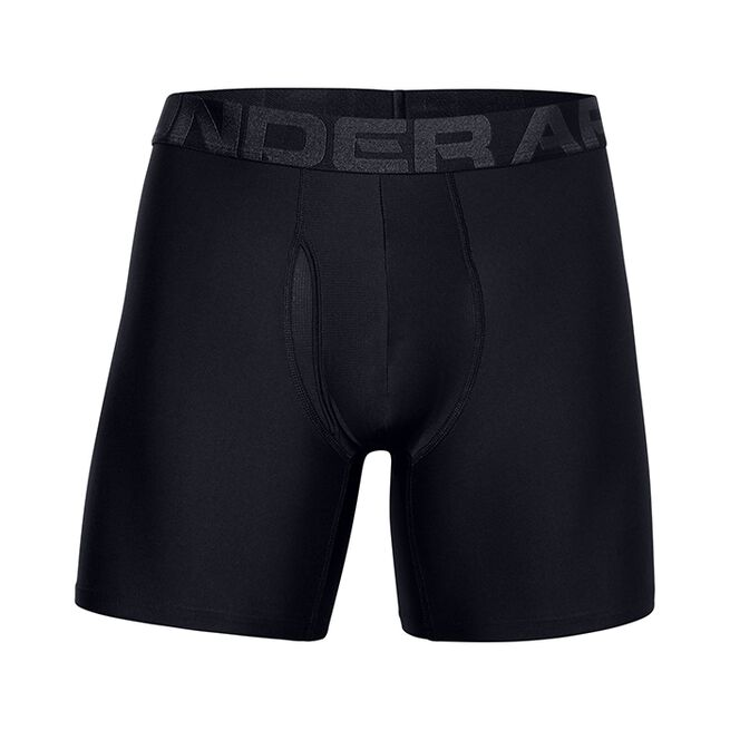 Under Armour UA Tech 6in 2 Pack, Black