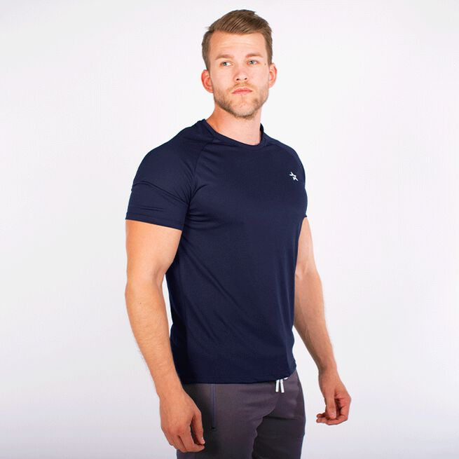 STAR TECH TEE, NAVY