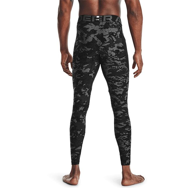 Under Armour HG Armour Camo Leggings Black