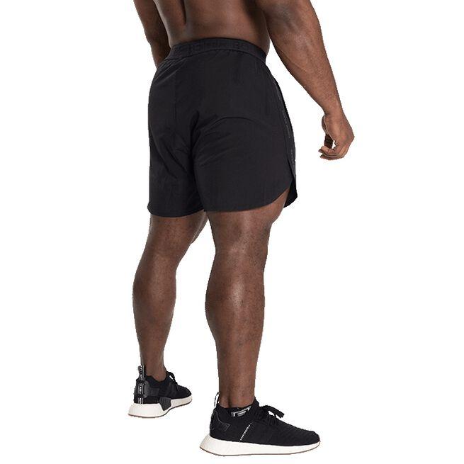 Essex Stripe Shorts, Black/Grey, S